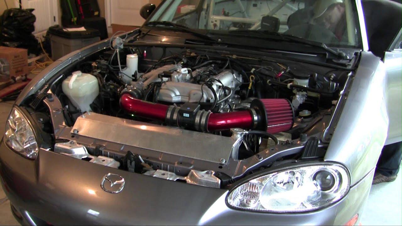 Spec Miata For Sale >> 2003 Mazda Miata Track Car - First Test of Crate Motor - YouTube