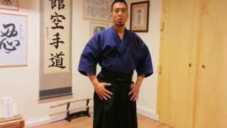 Ryan Hayashi - Video Lesson #44 - How To Wear A Hakama