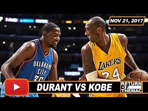 Kevin Durant Says Kobe Bryant Is The Toughest Player To Defend 1 On 1 (11.21.2017)