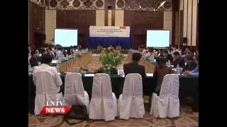 Lao NEWS on LNTV: Business connectivity along with facilitating trade and transport.23/7/2015