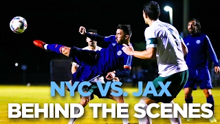 BEHIND THE SCENES | NYCFC vs. Jacksonville U | 02.02.17