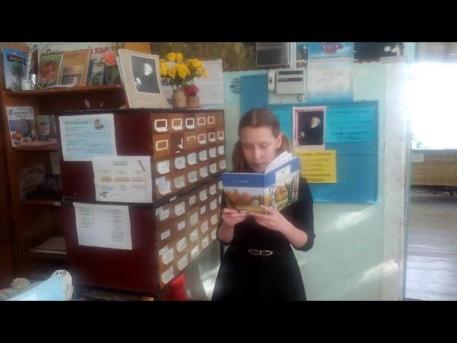 Изображение предпросмотра прочтения – АннаСтепаненко читает произведение «Мы ещё повоюем!» И.С.Тургенева