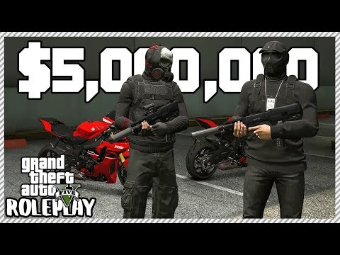 GTA 5 Roleplay - Robbed Two Banks For $5,000,000 | RedlineRP #556