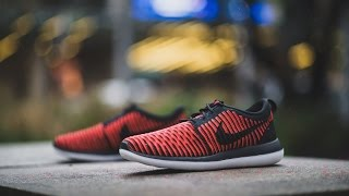 "Review & On-Feet: Nike Roshe Two Flyknit ""Bright Crimson"""