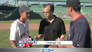 Red Sox Academy -- How to Throw a Changeup