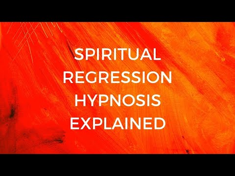 Spiritual Regression Hypnosis Explained - YouTube