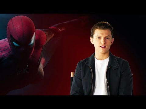 "SPIDER-MAN FAR FROM HOME ""Peter Parker"" Behind The Scenes Interview"
