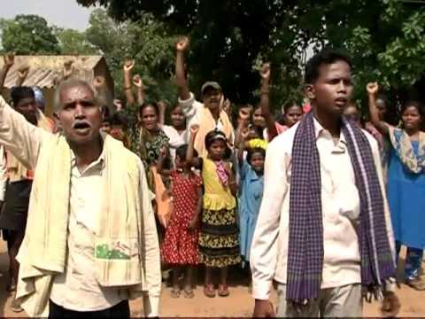 Life of Tribals in Sundargarh, Orissa, India (Struggle for Land Rights) - Part 2/3
