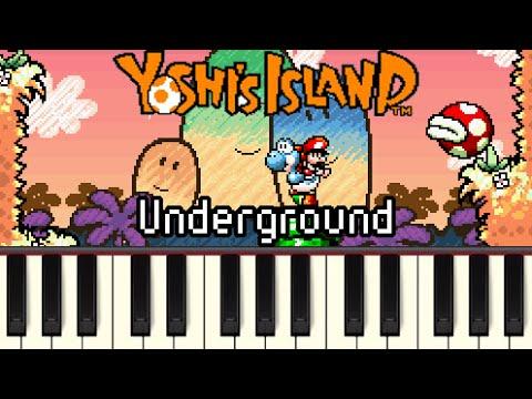 Underground - Yoshi's Island [Synthesia]