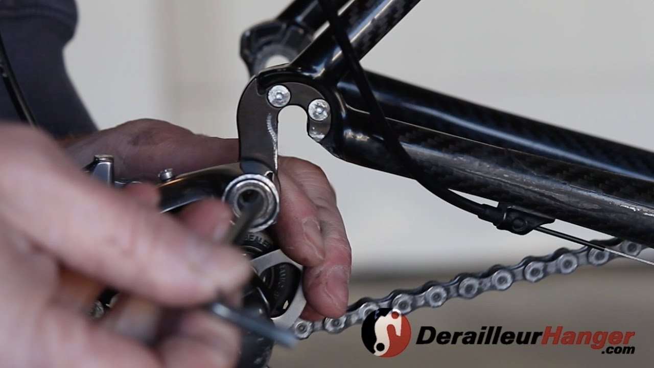 How To Install A Rear Derailleur Hanger Youtube