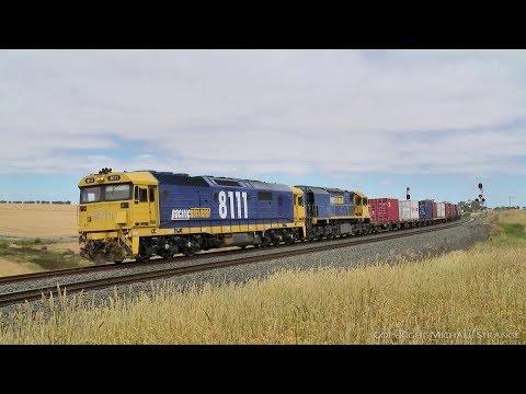 7902v Mildura Containers - PoathTV Australian Trains & Railways