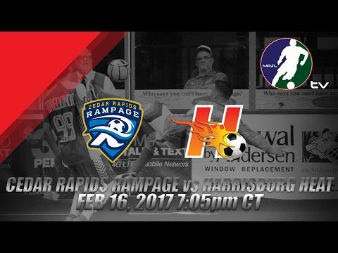 Cedar Rapids Rampage vs Harrisburg Heat