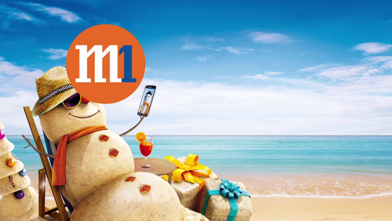M1 e-Christmas Card 2016 - YouTube