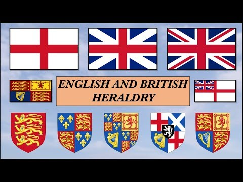 English And British Heraldry. History Of British Flags And Coats Of Arms.