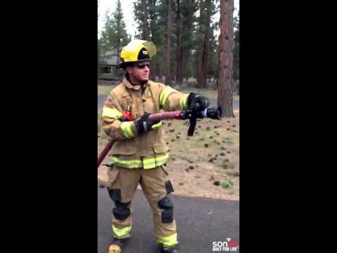 Sonim CEO Bob Plaschke Demonstrates IP68/IP69 XP7 Smartphone with the Sisters Fire Department