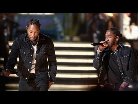 "Future Surprises Audience With Kendrick Lamar For ""Mask Off"" Performance At 2017 BET Awards"