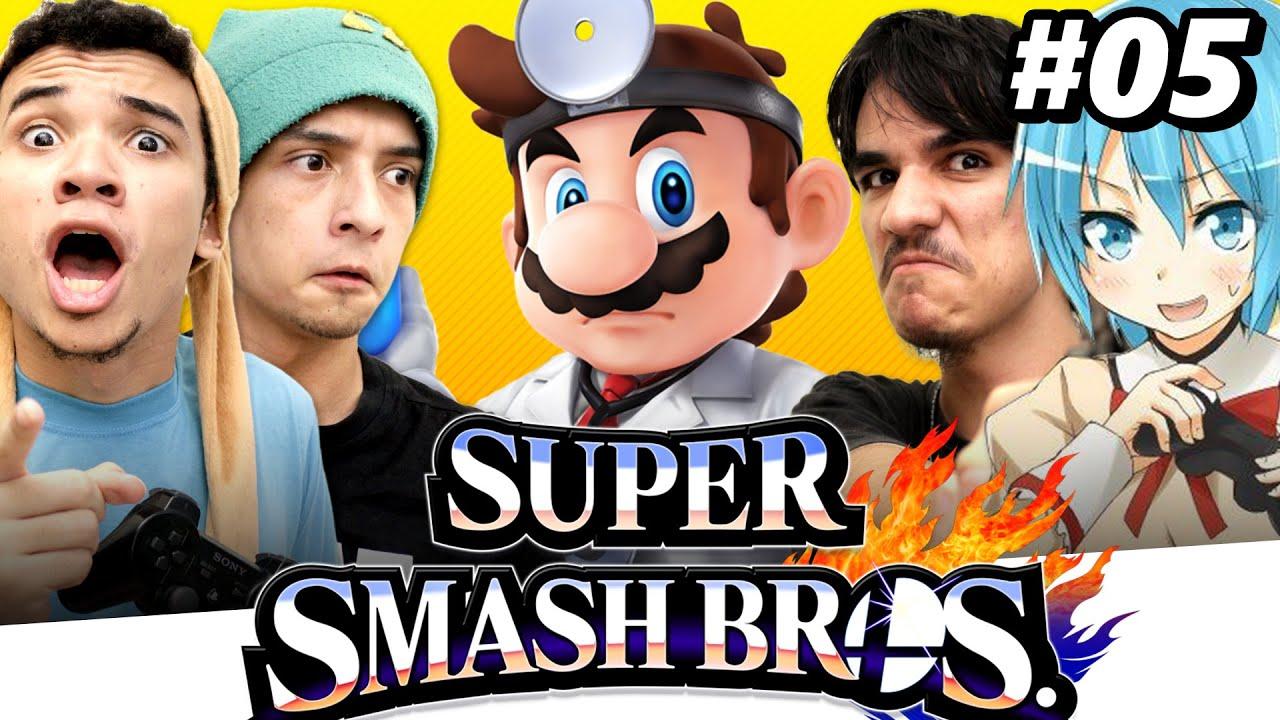 Super Smash Bros. for Wii U #05 - PORQUE SIM NÃO TEM RESPOSTA | Ataque da Casa ft. Carl