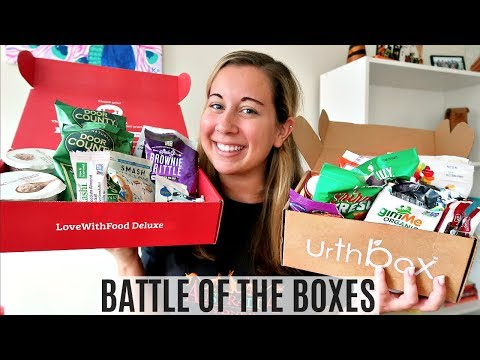 Battle of the Boxes: Love with Food vs UrthBox | TheChowDown