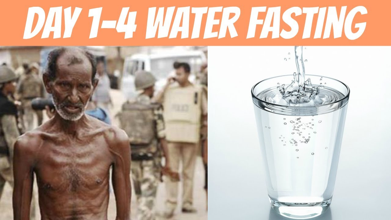 Day 1 4 On Water Fasting What You Should Expect
