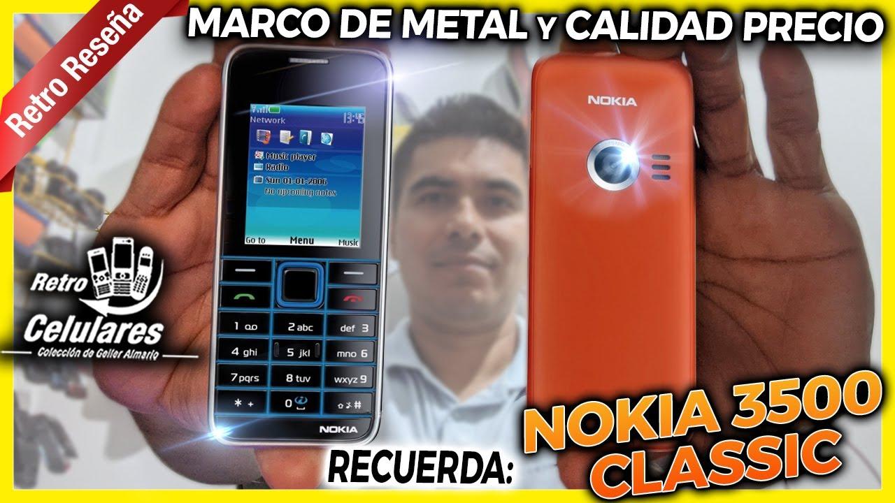 Recuerda el NOKIA 3500 classic con Marco de METAL y CALIDAD PRECIO | Retro Celulares 4k