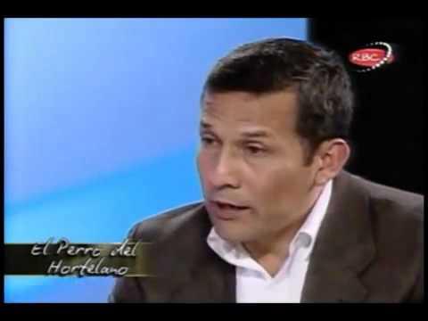 Hildebrandt le dijo saco largo a Humala
