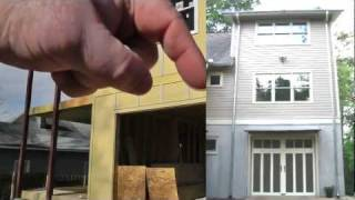 Design-build Narrow Lot Vlog #21 - Exterior Siding And Trim Progress