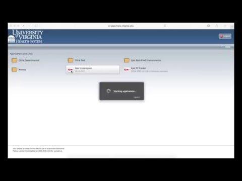 Epic Remote Access - Mac - YouTube