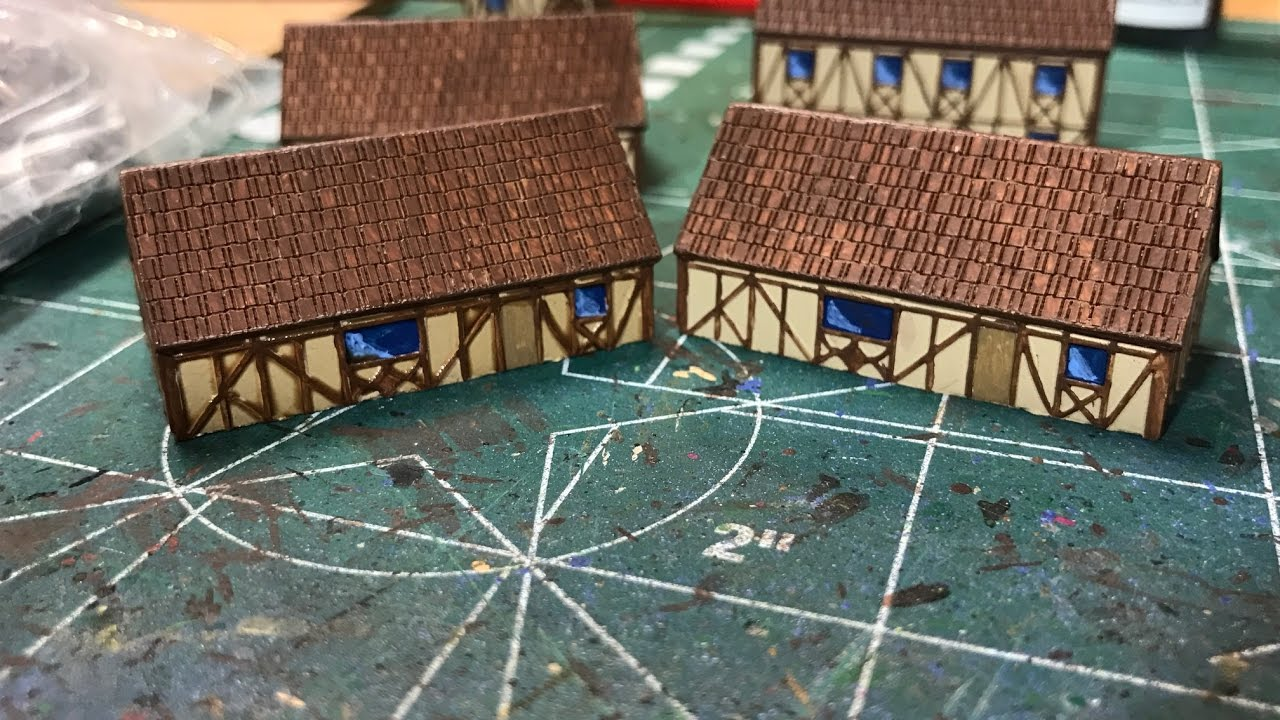 6mm Cold War - Painting Country Houses from 6mmGaming com
