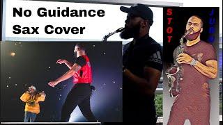 Chris Brown ft. Drake - No Guidance (Sax Version)