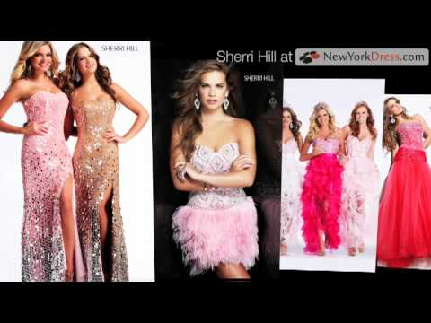 Sherri Hill 2011 Prom Dresses - YouTube