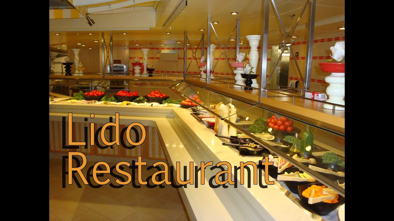 Carnival Cruise Breeze Lido Restaurant 8 Days Southern