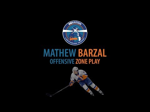 Mathew Barzal Offensive Zone