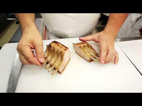 Spareribs in the Charcoal oven Josper (G. Goujon) / Costillas de cerdo al horno brasa Josper