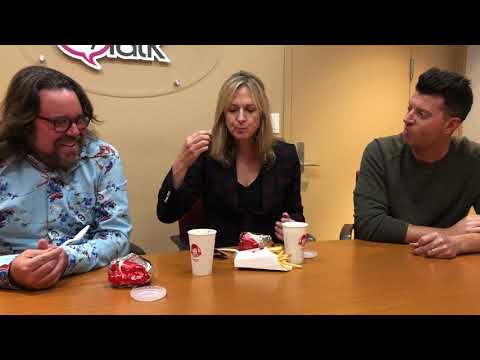 Donna tries a frosty for the first time!