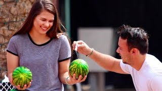 3 FUNNY PUBLIC PRANKS ON GIRLS