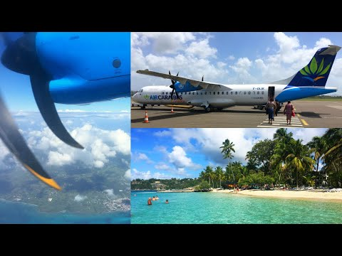 Air Caraïbes | Martinique Fort-de-France | Guadeloupe Pointe-à-Pitre | ATR 72-500