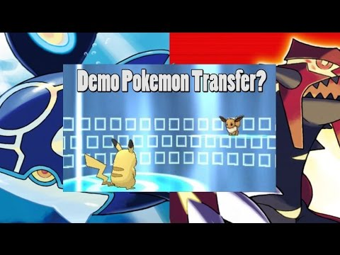 Pokemon Can Transfer From Demo's To Real Games