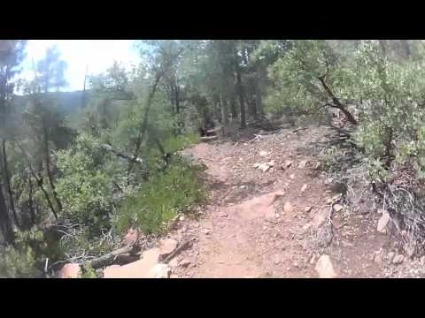 Mogollon Monster 100 Training Run 09.08.12