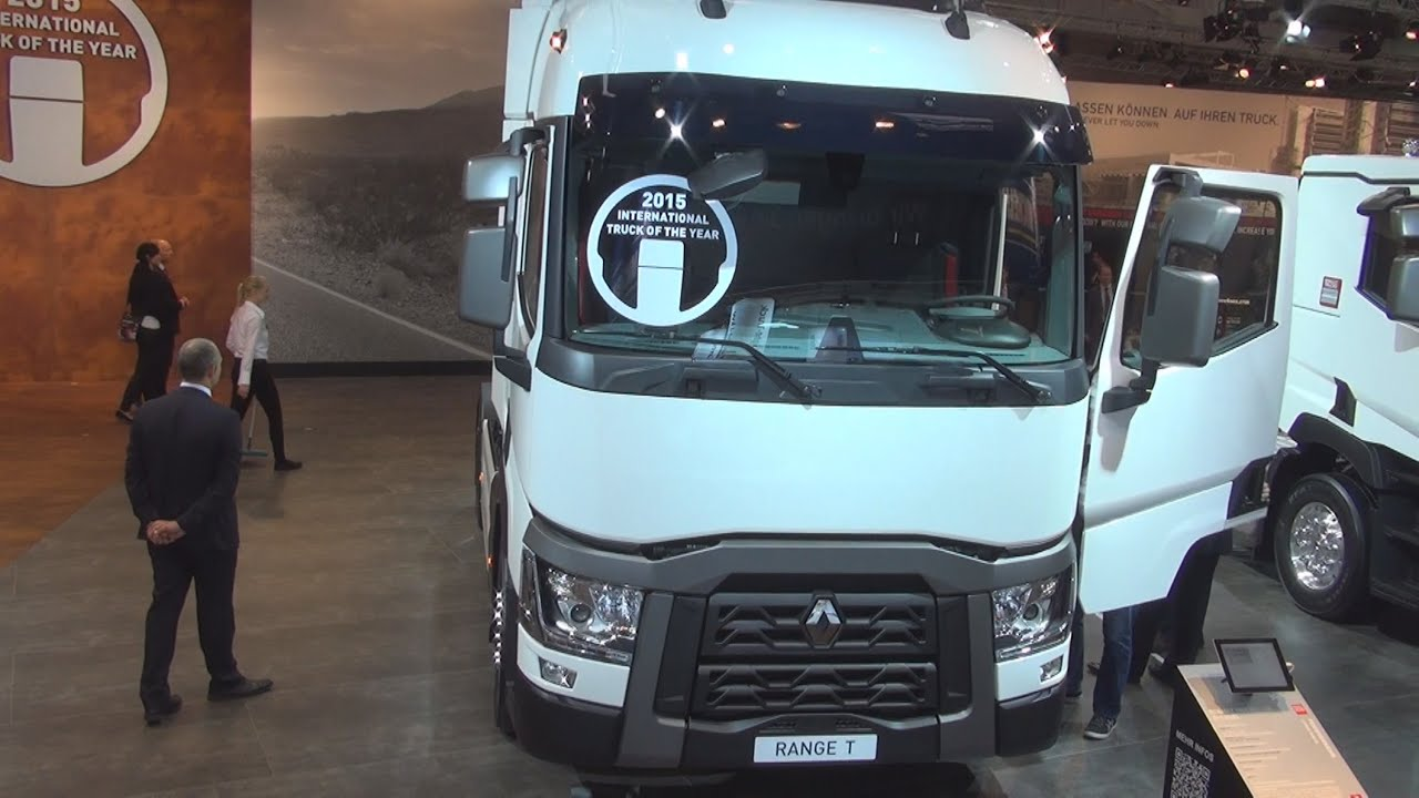 Renault Trucks T 430 OptiFuel (2015) Exterior and Interior in 3D 4K ...