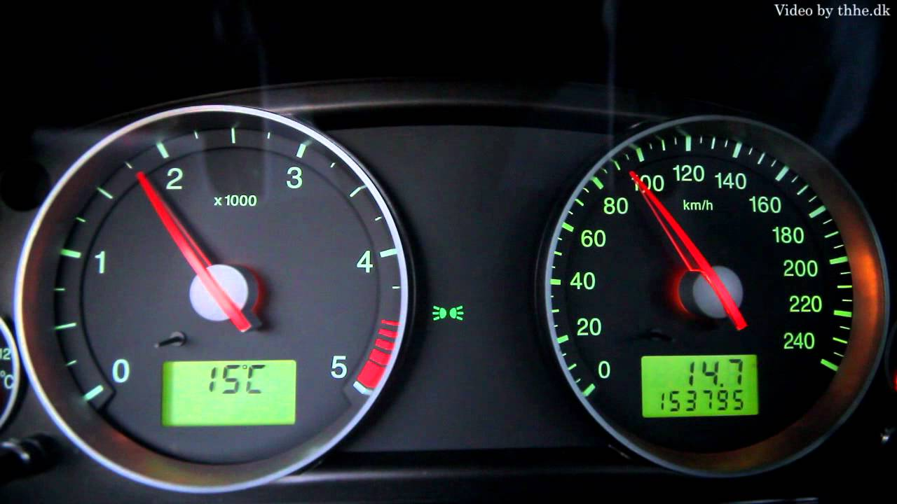 Ford Mondeo 0-100km/h with 2000 rpm MAX - YouTube