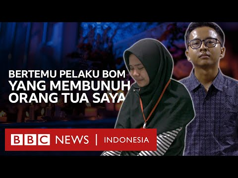 'Bertemu dengan pelaku pengeboman yang membunuh orang tua saya' - BBC News Indonesia