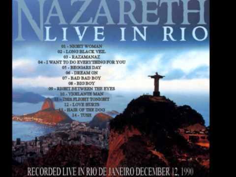 Nazareth - Live In Rio De Janeiro - Vigilante Man -(1990)