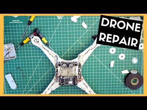 Phantom Four Repair | Camera, Frame & Landing Gear Replacement