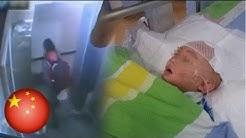 Isang sanggol, hinagis ng isang bata mula sa balcony sa China!