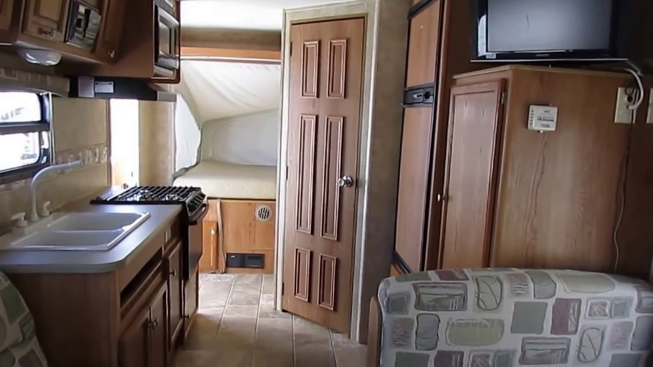SOLD! 2008 Jayco Jay Feather 19 H Hybrid Travel Trailer ...