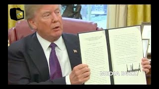 Trump Signs Orders Imposing Tariffs On Solar Imports and Washing Machines 1/23/18