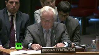 Виталий Чуркин о действиях западной коалиции в Сирии: Почаще смотритесь в зеркало