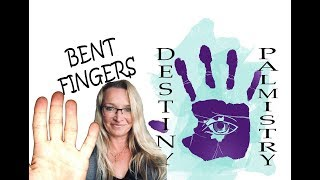 Bent Fingers Meaning in Palmistry