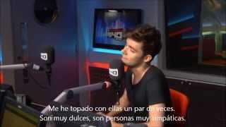 Nathan Sykes en Vodafone Big Top 40 Web Chat. Parte 1 (Sub. Español)