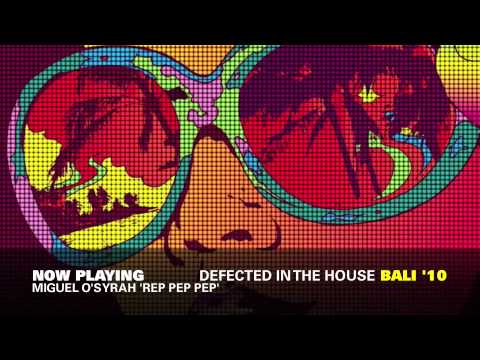 Defected In The House Bali '10 Mixed By DJ Gregory & Anton W